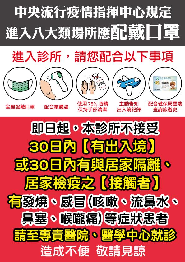 武漢肺炎公告1201